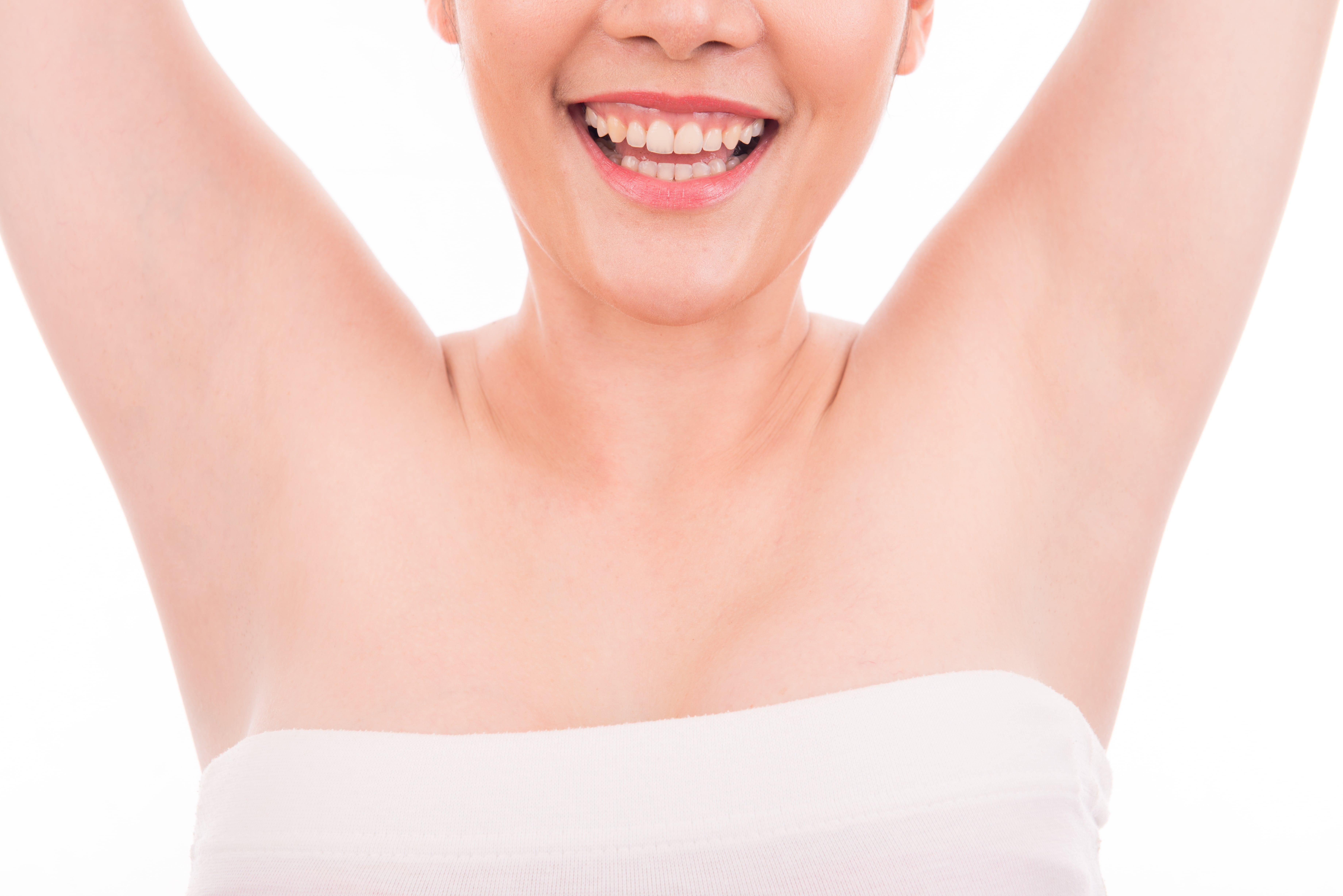 Pearlwax Voksning af arme og armhuler